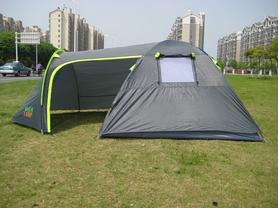 Фото 2 к товару Палатка четырехместная GreenCamp 1009