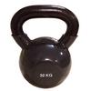 Гиря виниловая Rising 32 кг черная - фото 1