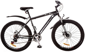 "Велосипед горный Discovery Trek AM 14G DD 2017 - 26"", рама - 18"", белый (OPS-DIS-26-076)"