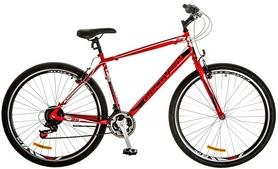 """Велосипед городской Discovery Attack 14G Vbr 29"""" 2017 красно-черно-белый, рама-19,5"""""""