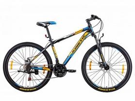 """Велосипед горный Kinetic Unic-steel 27,5"""" черно-оранжевый, рама - 17"""""""