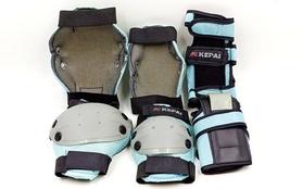 Фото 3 к товару Защита для катания (комплект) Kepai Protectors синий