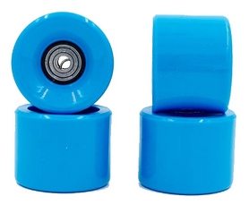 Колеса для скейтборда с подшипником ABEC-7 Kepai SK-4797-2 синие (4 шт)