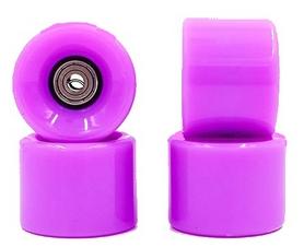Колеса для скейтборда с подшипником ABEC-7 Kepai SK-4797-6 фиолетовые (4 шт)