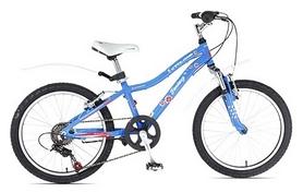 "Велосипед детский Cyclone Fantasy 20"" синий, рама – 11"""