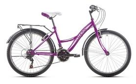 """Велосипед подростковый городской Intenzo Victory 24"""" фиолетовый, рама - 15"""""""