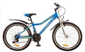 """Велосипед детский Formula Forest AM 14G Vbr St 2017 - 24"""", рама - 12,5"""", синий (OPS-FR-24-066)"""