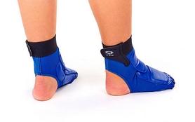 Фото 3 к товару Защита для ног (стопа) ZLT BO-2601-B синяя