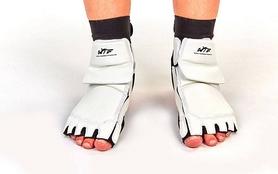 Фото 4 к товару Защита для ног (стопа) ZLT BO-2601-W белая