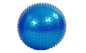 Мяч для фитнеса (фитбол) массажный HMS 55 см голубой