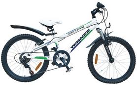 """Велосипед детский горный Winner Coyote 20"""" белый, рама - 11"""""""