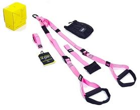 Петли подвесные тренировочные TRX Pro Pack Home pink