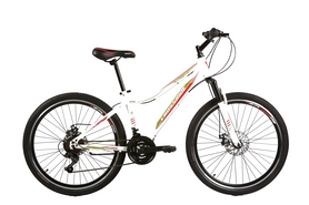 """Велосипед подростковый горный Crossride Molly Lady - 24"""", рама - 13"""", белый (AD-Cp24MTB04)"""