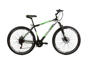 """Велосипед горный Crossride Flash MTB 29"""" черно-зеленый, рама - 19"""""""