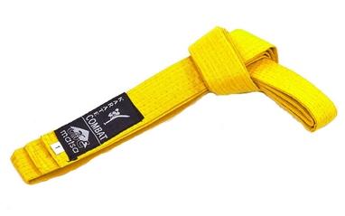 Пояс для кимоно Matsa MA-0040-Y желтый