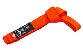Пояс для кимоно Matsa MA-0040-OR оранжевый - 230 см
