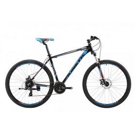 """Велосипед горный Kinetic Crystal 29"""" черно-синий, рама - 18"""""""