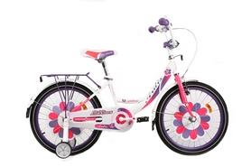 """Велосипед детский Ardis Lillies BMX - 18"""", рама - 10"""", бело-фиолетовый (AD-A18BMX02)"""