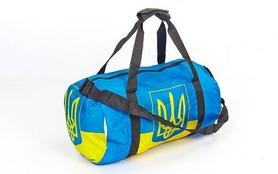 Сумка спортивная SportBag Ukraine GA-6034 желто-голубая