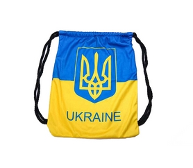 Распродажа*! Рюкзак спортивный SportBag Ukraine GA-4433-UKR желто-голубой