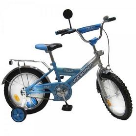"Велосипед детский Baby Tilly Explorer 16"" blue/silver"