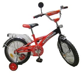 "Велосипед детский Baby Tilly Explorer 16"" orange/black"