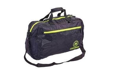 e594d94bf5e3 Сумка спортивная Converse Duffle Bag GA-0512 черно-салатовая ...