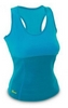 Майка для фитнеса женская Hot Shapers FI-4818-BL голубая