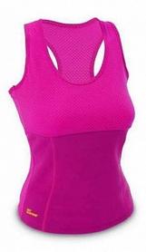 Майка для фитнеса женская Hot Shapers FI-4818-P малиновая