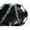 Мешок боксерский (кожа) 180х40 см - Фото №3
