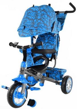 Велосипед трехколесный Baby Tilly Trike T-341 синий