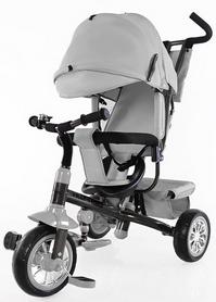 "Велосипед трехколесный Baby Tilly Trike - 11"", серый (T-341 GREY)"