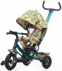 Велосипед трехколесный Baby Tilly Trike T-351-3 бирюзовый