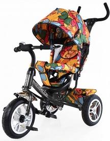 Велосипед трехколесный Baby Tilly Trike T-351-7 графит
