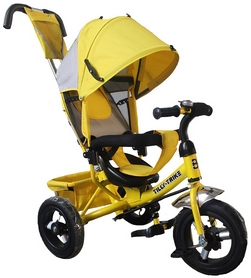 "Велосипед трехколесный Baby Tilly Trike - 12"", желтый (T-364 YELLOW)"