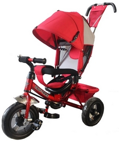 Велосипед трехколесный Baby Tilly Trike T-364 красный