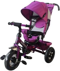 """Велосипед трехколесный Baby Tilly Trike - 12"""", фиолетовый (T-364 VIOLET)"""