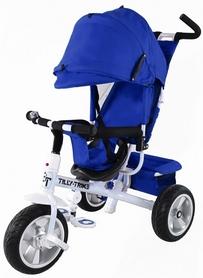 """Велосипед трехколесный Baby Tilly Trike - 12"""", синий (T-371 BLUE)"""