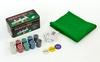 Набор для игры в покер, в металлической коробке, 200 фишек - фото 2