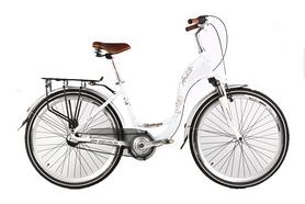"""Велосипед городской женский Ardis Vintage 26"""" белый, рама - 17"""""""