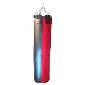 Мешок боксерский (PVC) 150х40 см красно-черный