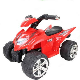 Электромобиль квадроцикл детский Baby Tilly T-732 красный