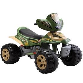 Электромобиль квадроцикл детский Baby Tilly T-735 зеленый