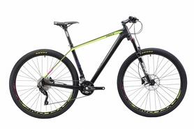 """Велосипед горный Cyclone PRO 1.0 29"""" черный, рама - 19"""""""