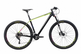 """Велосипед горный Cyclone PRO 1.0 29"""" черный, рама - 21"""""""