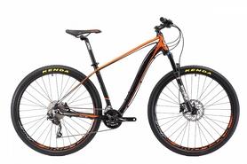 """Велосипед горный Cyclone SLX 29"""" черно-оранжевый, рама - 22"""""""