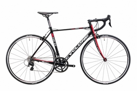"""Велосипед шоссейный Cyclone FRС 83 2017 - 28"""", рама - 55 см, черно-красный (win17-032)"""