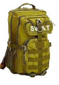 Рюкзак тактический Tactic SWAT-3P-O 35 л оливковый