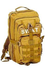 Рюкзак тактический Tactic SWAT-3P-H 35 л хаки