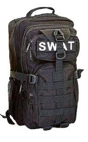 Рюкзак тактический Tactic SWAT-3P-BK 35 л черный